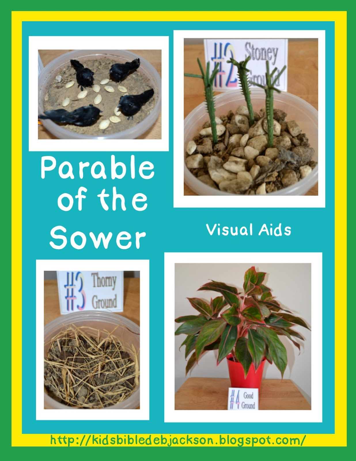bible fun for kids cathy s corner parable of the sower