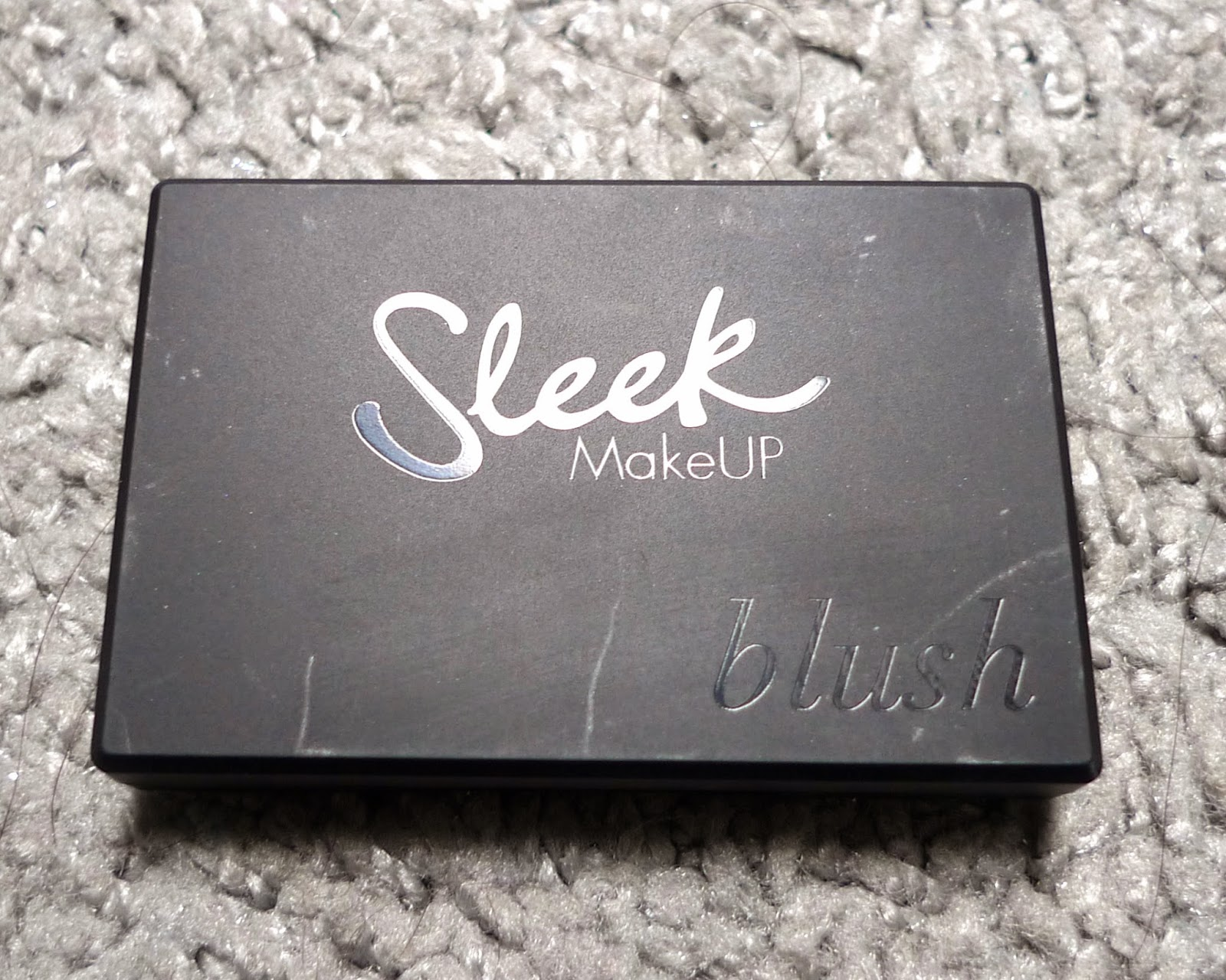Sleek Blusher in Pomegranate Makeup review