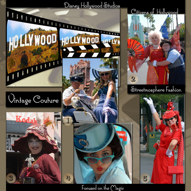 Citizens of Hollywood (Streetmosphere) at Disney's Hollywood Studios ~ Disney Couture