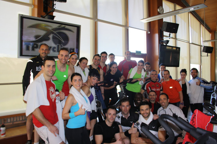 23ª Formación TPCycling en Reebok Sport Club