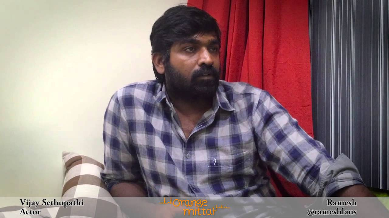 Vijay Sethupathi Social Media Interview with Ramesh – Orange Mittai