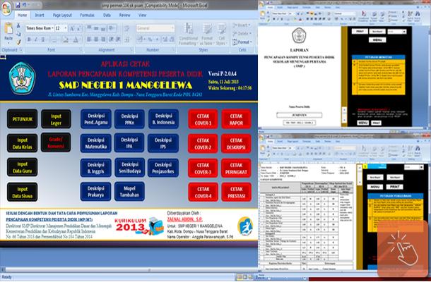 Aplikasi Raport SMP Kurikulum 2013 Sesuai Permendikbud No. 104 Tahun 2014