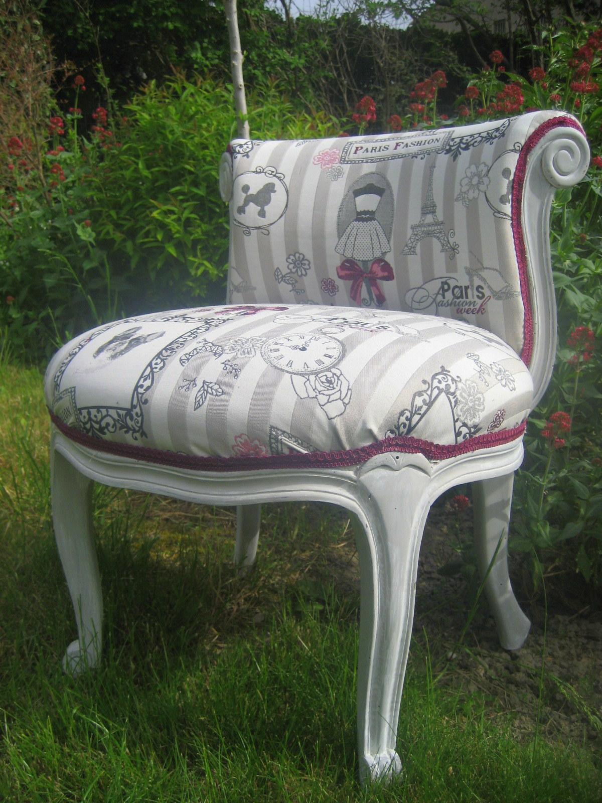 le boudoir de sparkling fairy diy le fauteuil boudoir. Black Bedroom Furniture Sets. Home Design Ideas