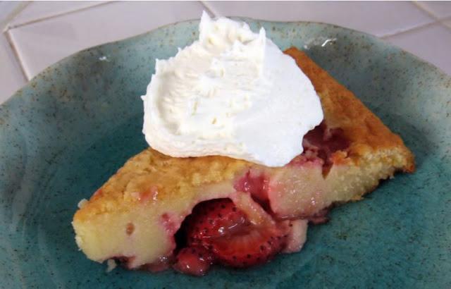 Strawberry Clafloutis by freshfromthe.com
