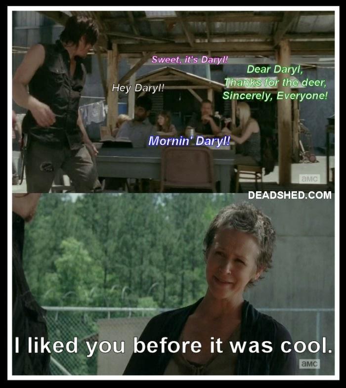 Walking Dead Meme Season 4 Carol 30 Days without accide...