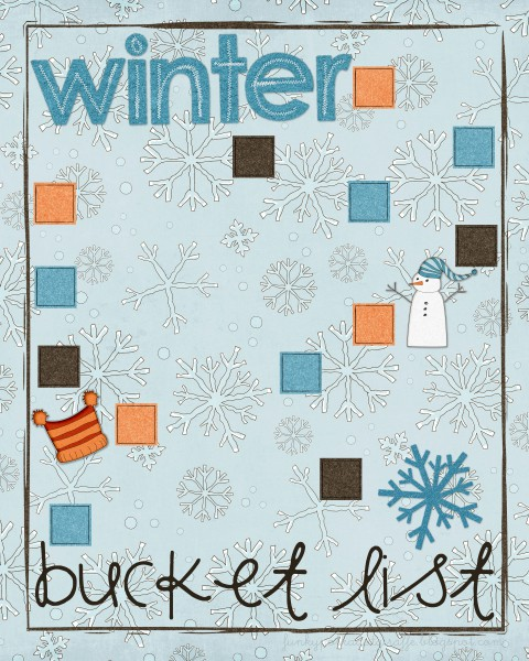 Image result for bucket list winter