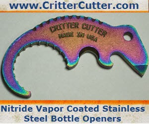 Critter Cutter Bottle Openers