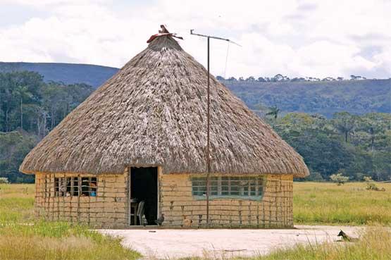 viviendas indigenas: