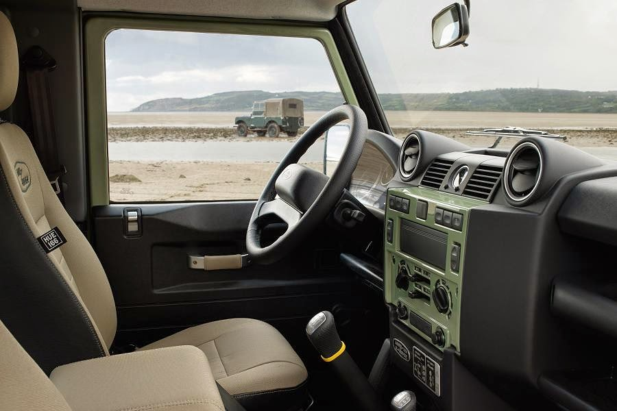 Land Rover Defender 90 Station Wagon Heritage Limited Edition (2015) Interior