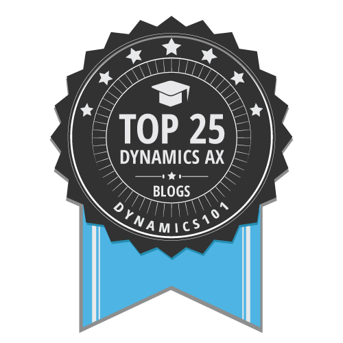 Top 25 Dynamics AX Blogs