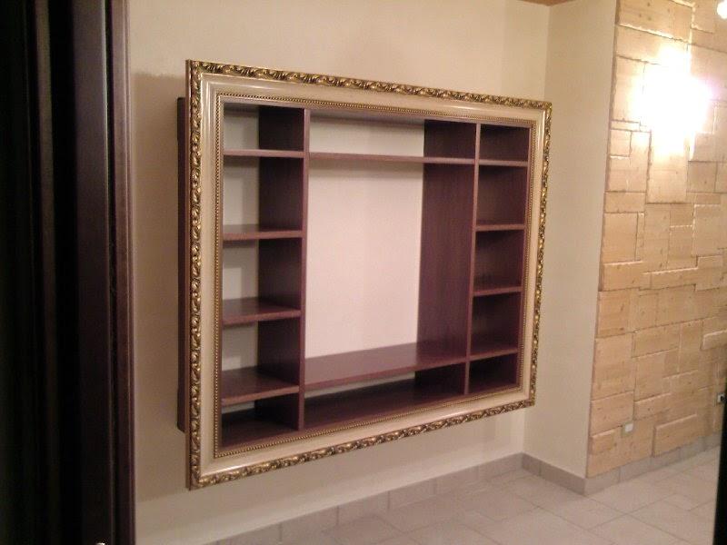 Fai da te hobby legno mobili sospesi con cornice - Mobiletti fai da te ...