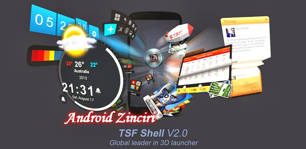 TSF Shell v2.0.5 Apk
