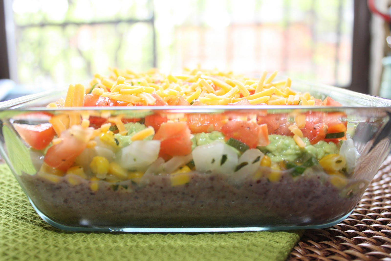 The Bitchin' Kitchin': Five Layer Taco Dip
