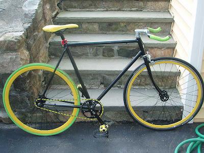 Desain Sepeda Fixie Melon