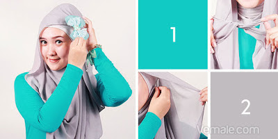 How To Wear Hijab Beautiful Bow