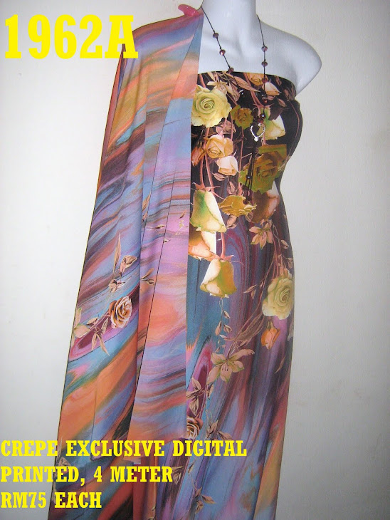 CDP 1962A: CREPE EXCLUSIVE DIGITAL PRINTED, 4 METER