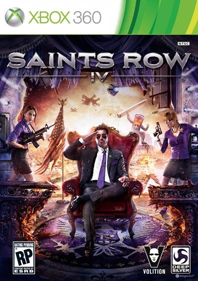 Saints Row 4 Xbox 360 Español Región Free XGD3