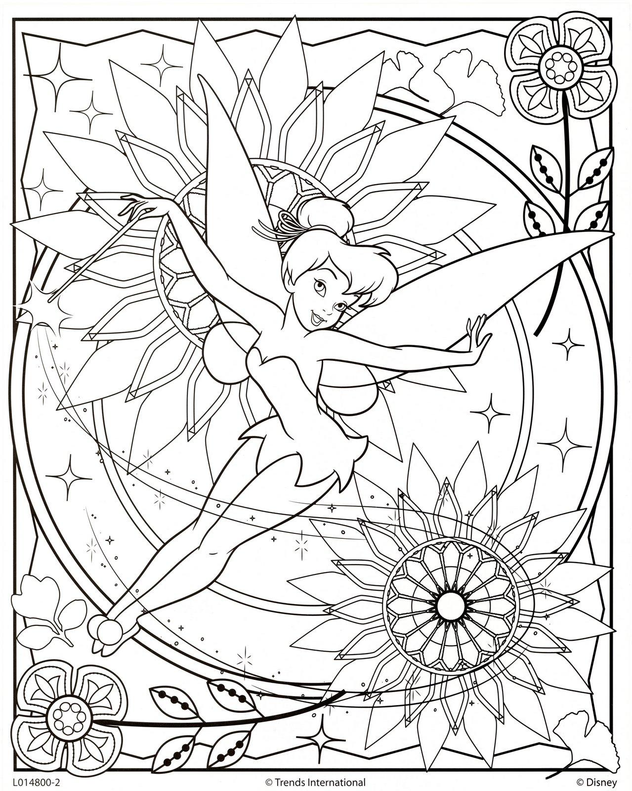 Fada sininho para colorir desenhos e riscos - Coloriage prin ...