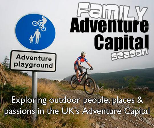 Ad Cap Season Lead Pic Cumbria Adventure Capital UK for families Season