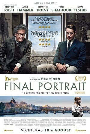 Filme Final Portrait - Legendado 2018 Torrent