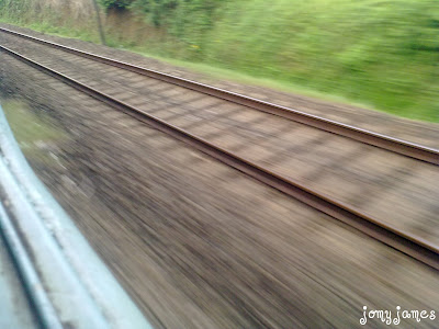 Photos clicked between Trissur and Angamaly Stations in Kerala.