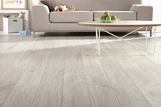 Inspirations tendance s les diff rents sols for Parquet stratifie blanc