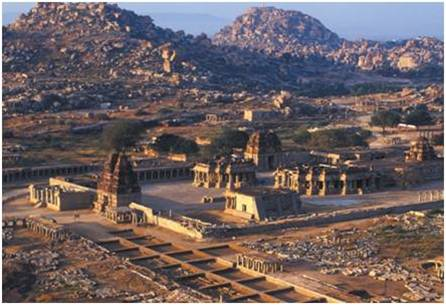 Hampi - Enter The Lost World Historical Places of  INDIA