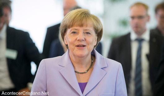"""Angela Merkel: """"Europa necesita cristianos valientes con principios bíblicos"""""""
