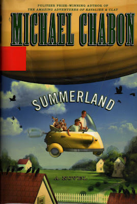Cover art: Summerland by Michael Chabon