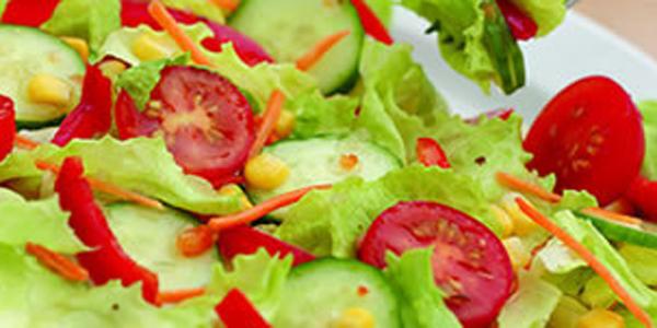 ensaladas preparacion: