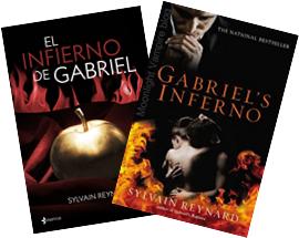 """Portadas de """"El Infierno de Gabriel"""""""