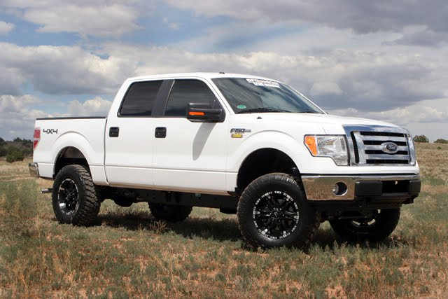 Premium Lift System Available For '09 thru 2013 Ford F-150 Pickups