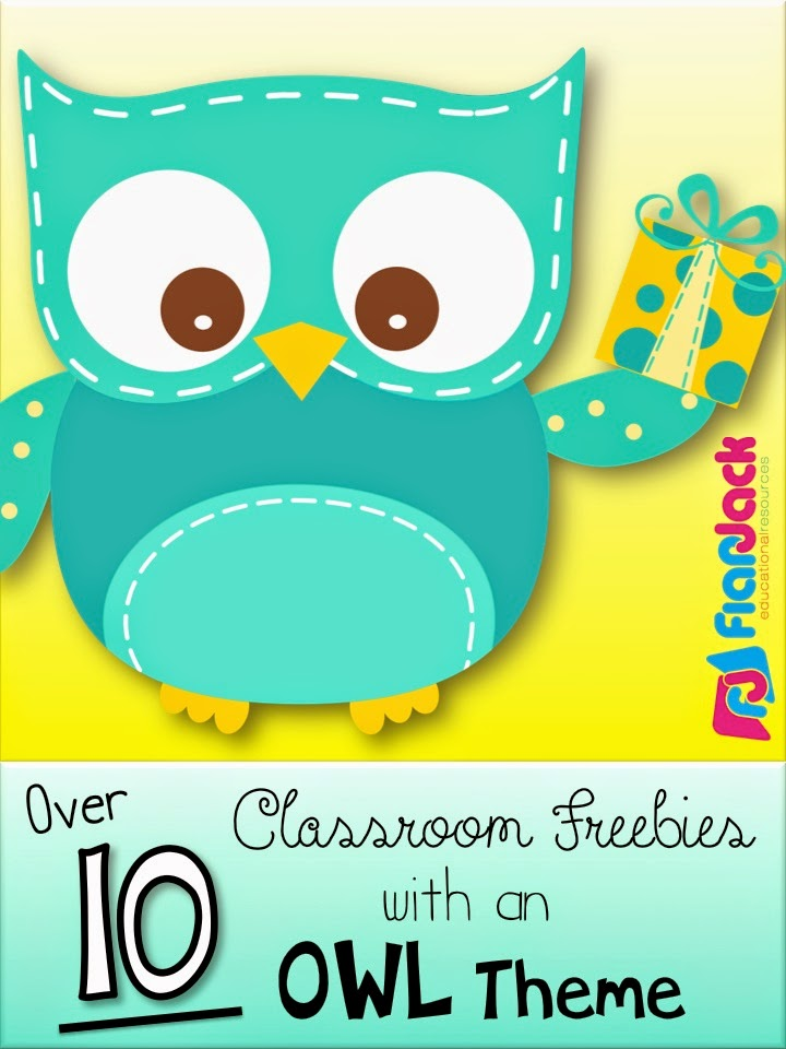 FlapJack Educational Resources: Lots of OWLS Classroom Theme Freebies ...
