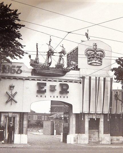 Coronation Gate HMS Vernon