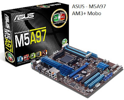 Asus M5A97 AMD FX bulldozer AM3+ Socket Motherboard
