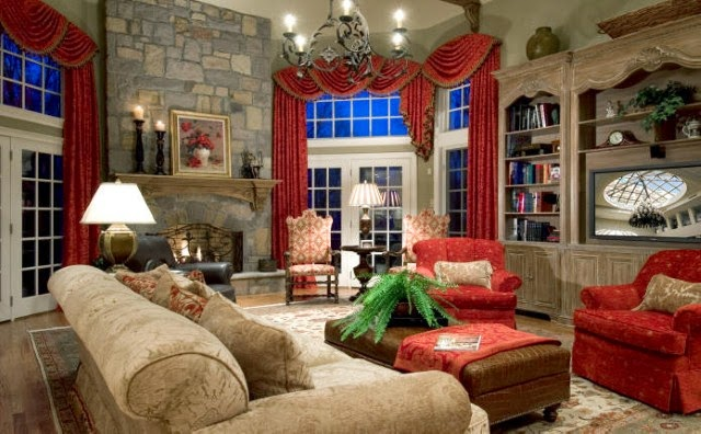 Rustic country living room decorating ideas for Country family room decorating ideas