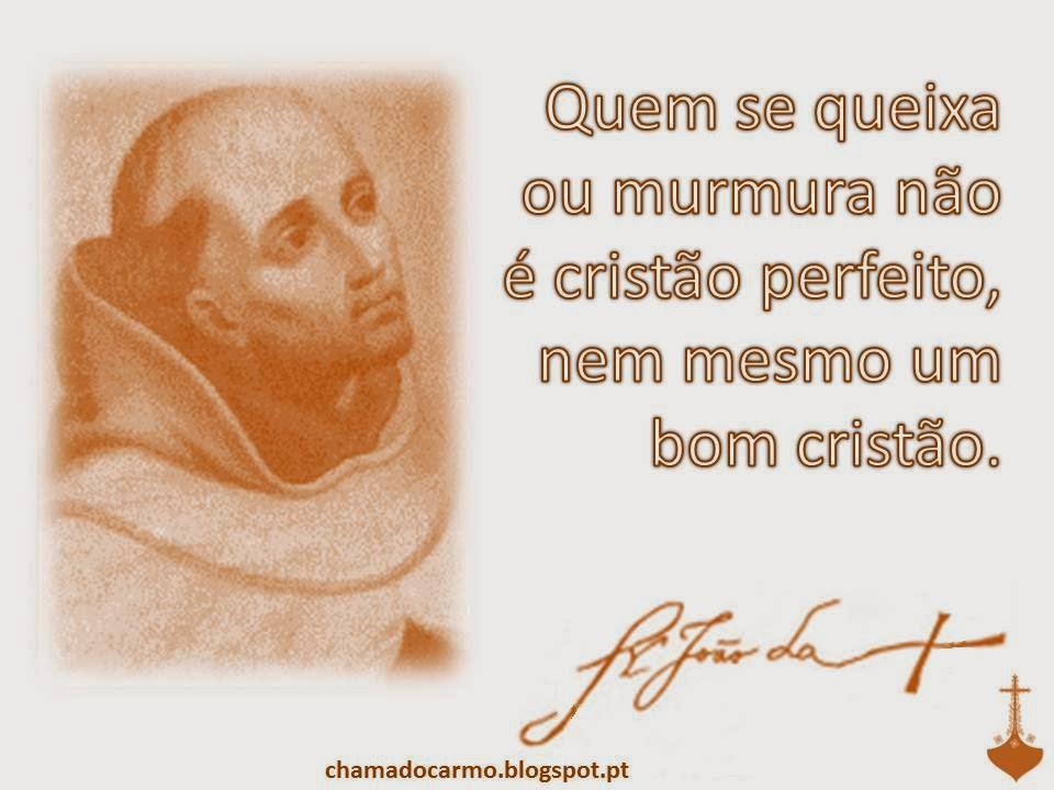 Chama Do Carmo Frase São João Da Cruz I