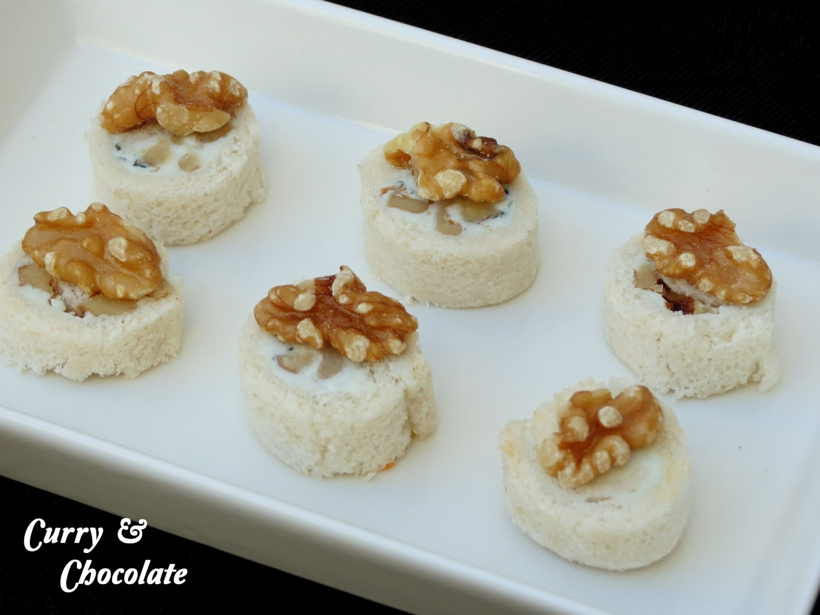 Curry y chocolate canap s f ciles parte 2 easy canapes for Canape in english