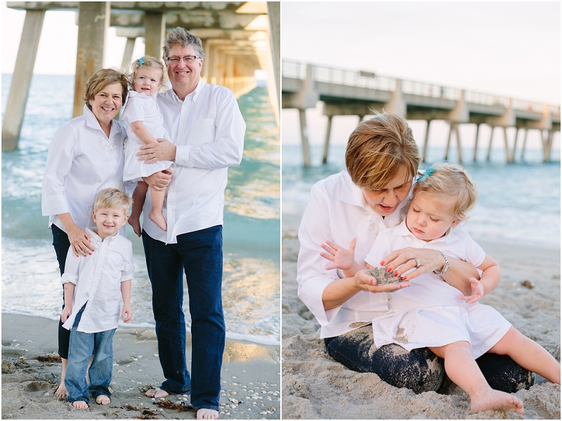juno beach pier florida family photography