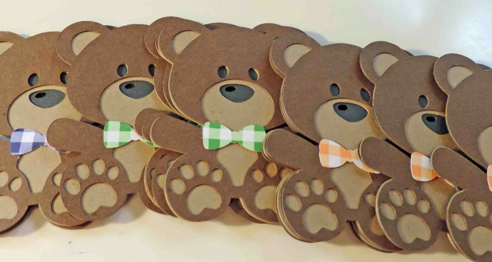 Cool Beans by L.B.: Teddy Bear Picnic Shower Invites