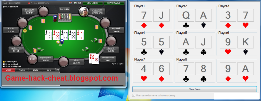 pokerstars cheat