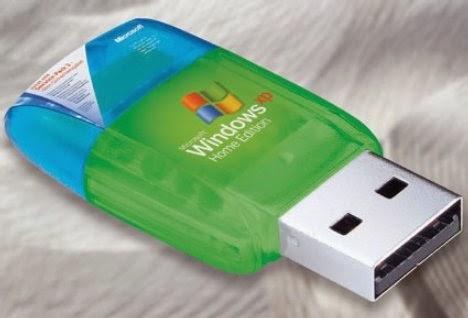 install laptop windows 7 di flashdisk