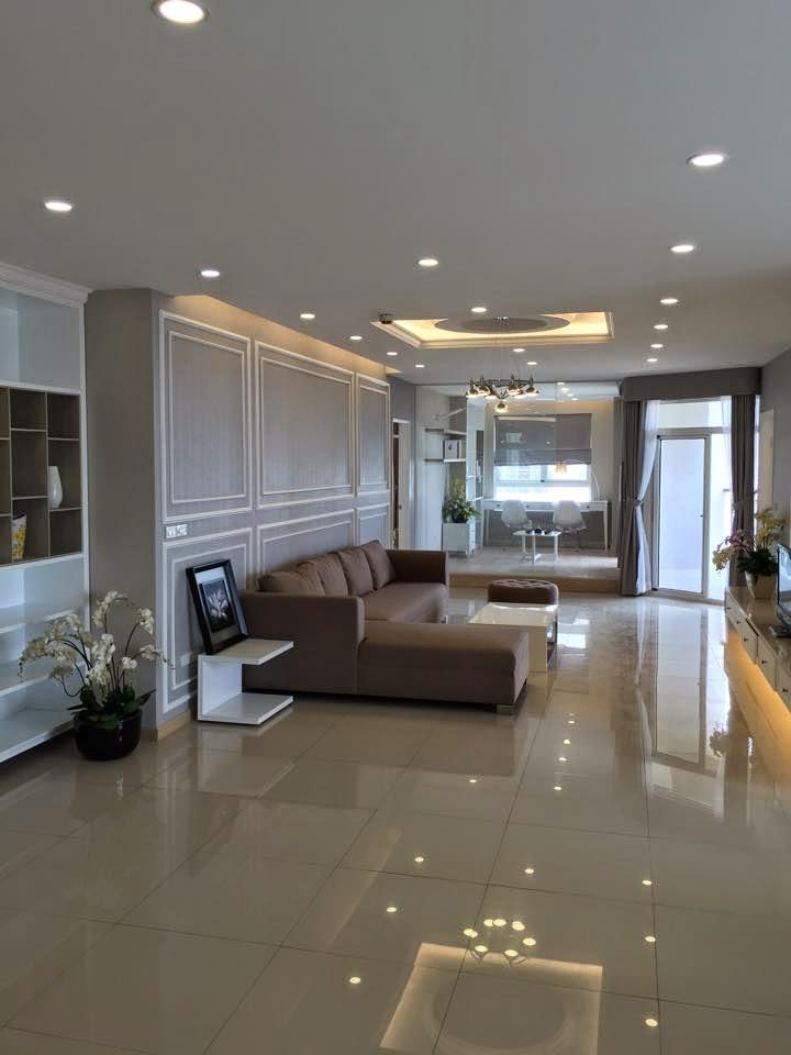 căn hộ flemington 218m2 phòng khách - 2