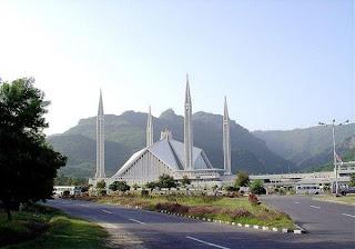 Masjid Faisal di Islamabad, paakistan,data 7 masjid terbesar dan termegah