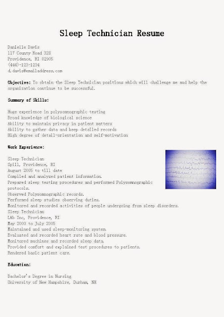 Sample Job ResumesGreat Sample Resume Resume Samples Sleep