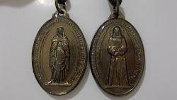 Medalla de Nuestra Señora de Las Lágrimas de Campinas, SP, Brasil