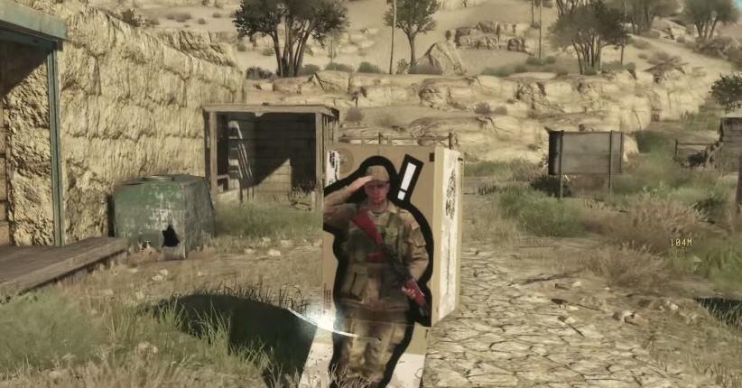 MGS5の動画、イメージが公開された!ダンボールの使い方が…。