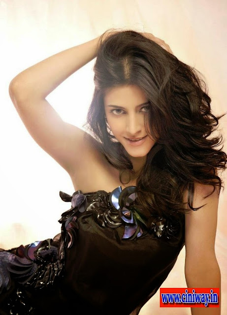 Shruti Haasan Photoshoot for Film Fare Magazine July 2013