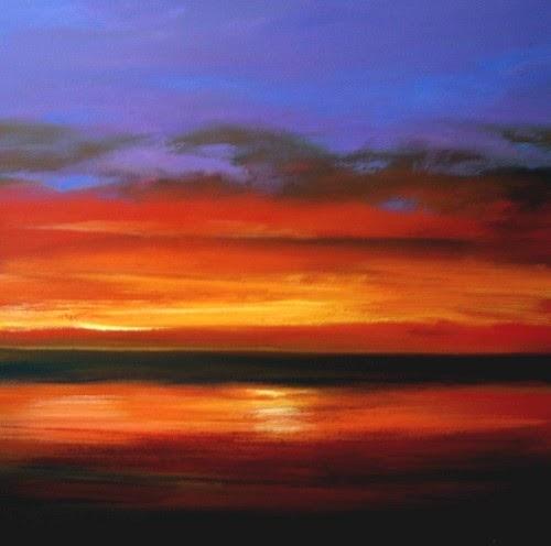 Bila gambar bersuara: Koleksi catan pemandangan waktu senja