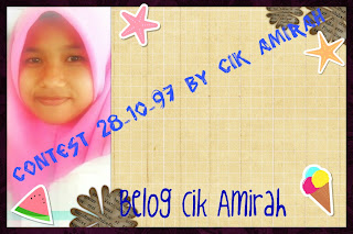 Contest 28-10-97 By Cik Amirah